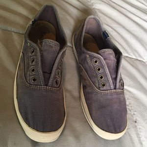 Keds Distressed Slip Ons Size 6